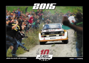 "Quattro Kalender 2015 ""10 YEARS RALLYE"""