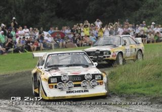 "Quattro Kalender 2017 ""Rallye Festival"""