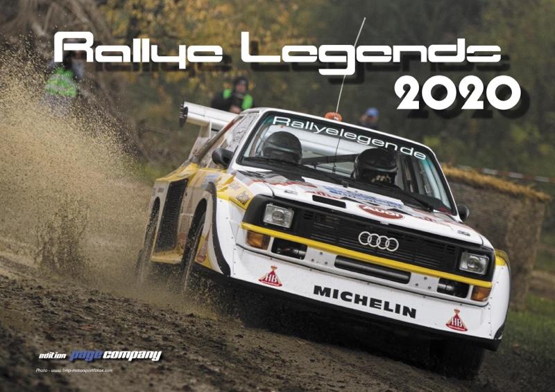 "Quattro Kalender 2020 ""Rally Legends 2020"""