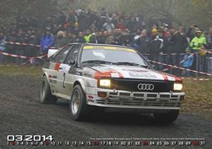 "Quattro Kalender 2014 ""on the limit"""