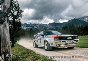 "Quattro Kalender 2019 ""Race on fire"""
