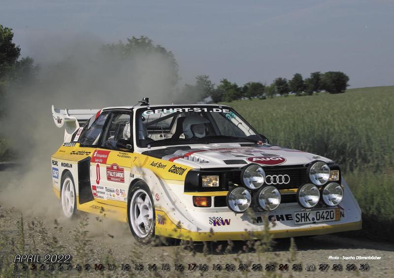 "Quattro Kalender ""Racing Highlights 2022"""