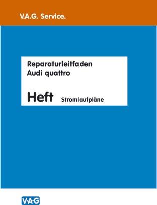 Reparaturleitfaden Stromlaufpläne Band 1 - 1980/81 bis 1991