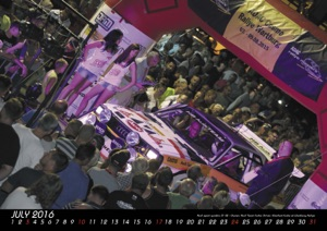 "Quattro Kalender 2016 ""Rallye Highlights"""